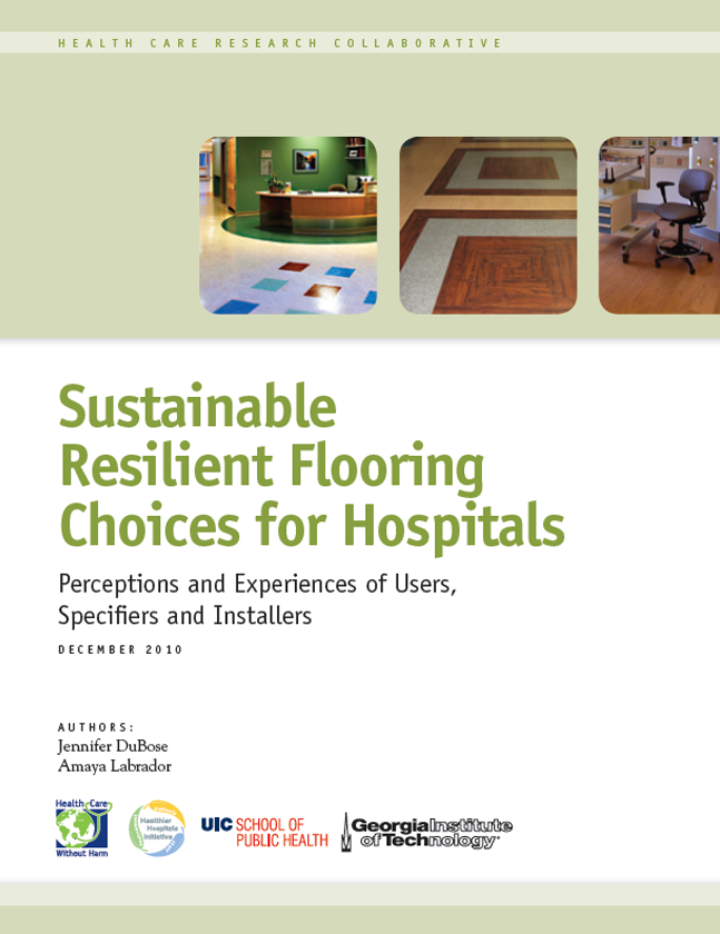 Sustainable Resilient Flooring Choices for Hospitals