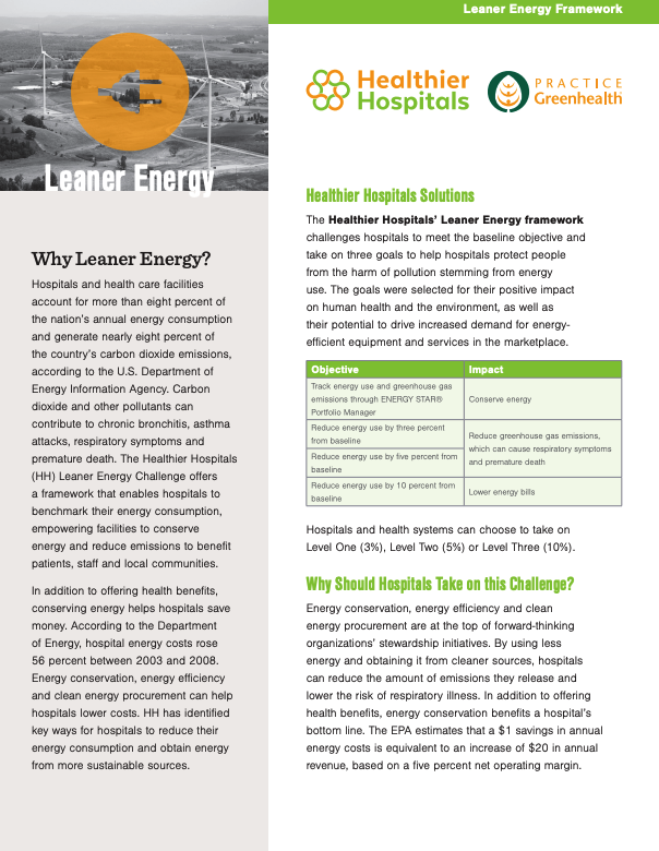 Leaner energy fact sheet thumbnail