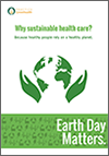 Why sustainable health care poster