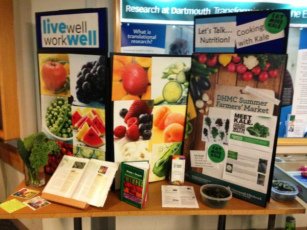 Dartmouth-Hitchcock nutrition display