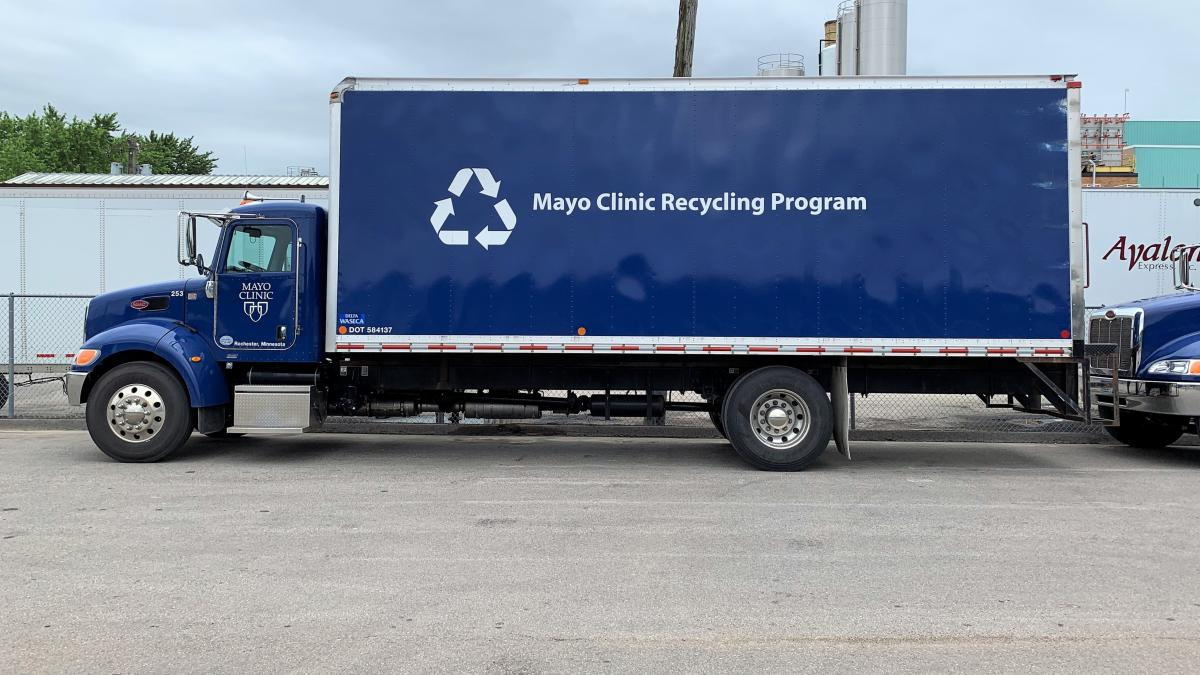 Mayo Clinic Recycling Story