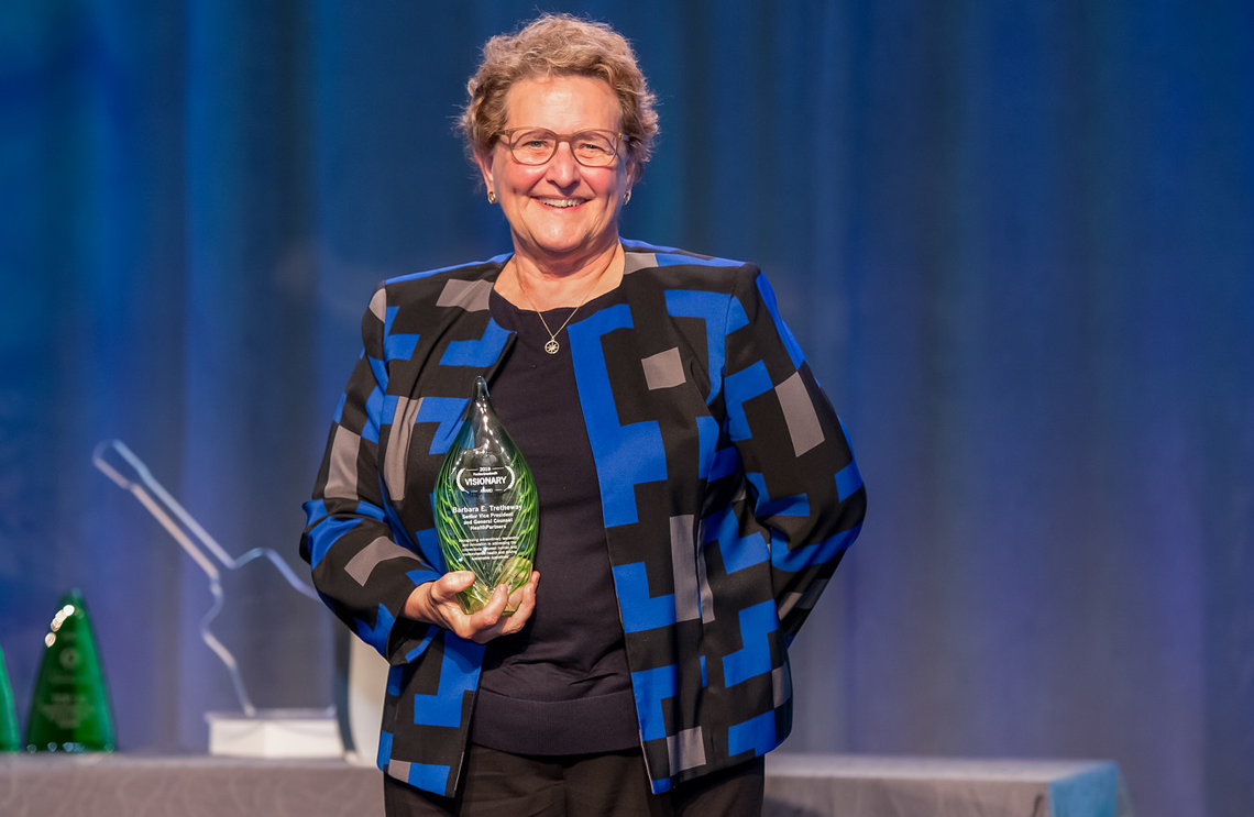Barbara Tretheway - Visionary Award winner 2019
