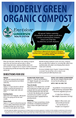 Gundersen Health System: Envision compost sign