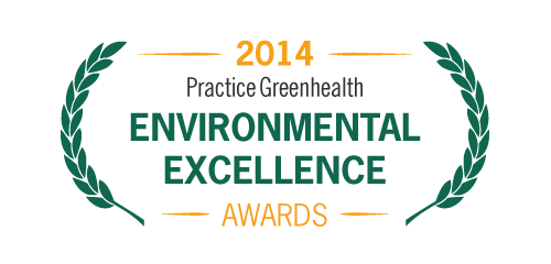 2014 Practice Greenhealth Environmental Excellence Awards